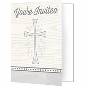Divinity Silver Invitations 48 ct