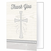 Divinity Silver Thank You Notes 48 ct