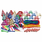 Assorted New Years Multicolor Party Kit 1 ct