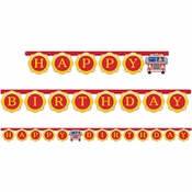 Fire Truck Banners 12 ct