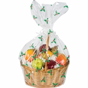 Holly Basket Bags 12 ct