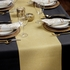 """12.5"""" x 108"""" Gold Sparkle Table Runners 12 ct"""