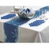 "13.5"" X 200 Blue Snowflake Table Runner 1 ct"