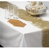 "13.5"" x 200 Gold Snowflake Table Runner 1 ct"