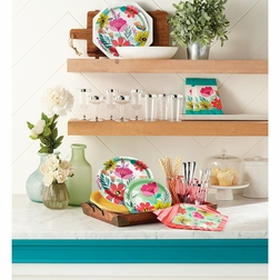 Modern Florals Party Supplies