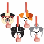 Dog Party Party Blowers 48 ct