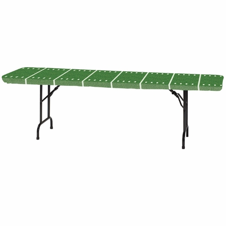 """Stay Put Football Field 29"""" x 72"""" Tablecovers 12 ct"""