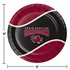 Black and red University of South Carolina Dinner Plate sold in quantities of 8 / pkg, 12 pkg / case