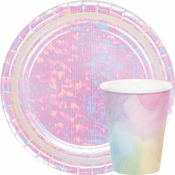 Iridescent Baby Shower Supplies