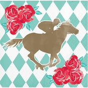 Derby Beverage Napkins 192 ct