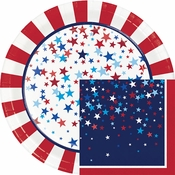 Patriotic Pride Fourth of July Party Supplies