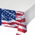 Waving Flag Fourth of July Plastic Tablecloths 12 ct