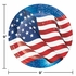 Fireworks & Flags Dinner Plates 96 ct