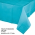 Touch of Color Bermuda Blue Paper Tablecloths 6 ct in quantities of 1 / pkg, 6 pkgs / case