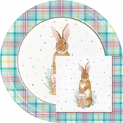 Easter Plaid Party Supplies