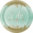 Mint To Be Banquet Plates 96 ct