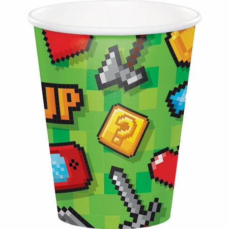 Video Games Party Cups 96 ct