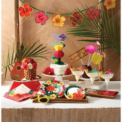 Tropical Flowers Party Supplies