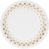 Sparkle and Shine Gold Foil Luncheon Plates