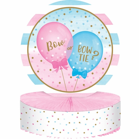 Gender Reveal Balloons Centerpieces 6 ct
