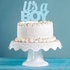 Blue Glitter Its a Boy Cake Toppers 12 ct