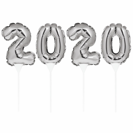 2020 Balloon Cake Toppers 48 ct