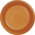 Pumpkin Spice Orange Premium Plastic Dinner Plates 240 ct