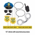 Police Party Photo Booth Props 60 ct