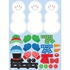Build A Snowman Stickers 48 ct