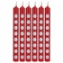 Classic Red Polka Dot Candles 72 ct