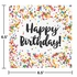 Confetti Sprinkles Birthday Luncheon Napkins 192 ct