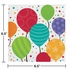 Shimmering Balloons Luncheon Napkins 192 ct