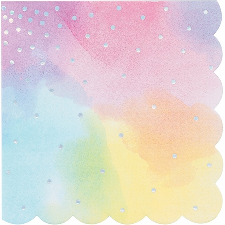 Iridescent Party Luncheon Napkins 192 ct