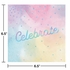 Iridescent Party Celebrate Luncheon Napkins 192 ct