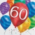 Balloon Blast 60th Birthday Luncheon Napkins 192 ct