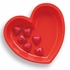 Red Heart Plastic Serving Trays 12 ct