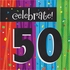 Milestone Celebrations 50th Birthday Luncheon Napkins 192 ct