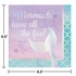 Iridescent Mermaid All The Fun Luncheon Napkins 192 ct