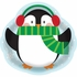 Penguin Serving Trays 12 ct