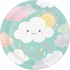 Clouds Dinner Plates 96 ct