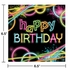 Glow Party Birthday Luncheon Napkins 192 ct