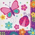 Butterfly Garden Luncheon Napkins 192 ct