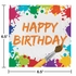 Art Party Birthday Luncheon Napkins 192 ct