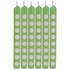 Fresh Lime Green Polka Dot Candles 72 ct