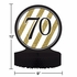 Black and Gold 70th Birthday Centerpieces 6 ct