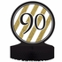 Black and Gold 90th Birthday Centerpieces 6 ct