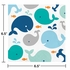 Blue Baby Whale Luncheon Napkins 192 ct