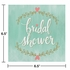 Mint To Be Bridal Shower Luncheon Napkins 192 ct