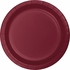 Touch of Color Burgundy Banquet Plates in quantities of 24 / pkg, 10 pkgs / case