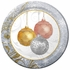 """10"""" All That Glitters Paper Banquet Plates 200 ct"""